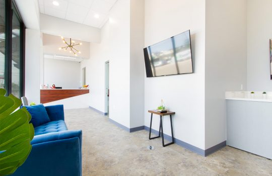 Reception Office & Seating Area